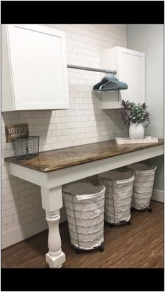 50 small laundry room decoration ideas for you act before it's too late 14 pag. 50 small laundry room decoration ideas for you act before it's too late 14 page 27 Mudroom Laundry Room, Laundry Room Remodel, Farmhouse Laundry Room, Laundry Room Organization, Laundry Room Design, Laundry In Bathroom, Laundry Baskets, Laundry Room Makeovers, Laundry Room Countertop