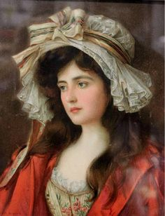 Albert Lynch (1851-1912) — Portrait of a Woman (900×1177)
