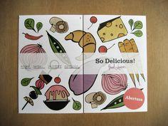 So Delicious! · Brand Identity & Collateral Design by YOYO Studio , via Behance