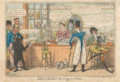 Dandies Having a Treat, 1818. Yale Center for British Art B1977.14.9711