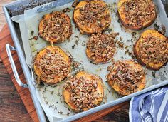 Pecan-Crusted Sweet Potatoes Recipe by Stone Soup