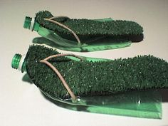 Picture of The Simple Mans Wandering Sandals from Plastic Bottles