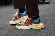 Balenciaga 2017 Fall/Winter Triple-S Sneakers Closer Look