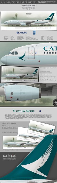 Cargo Aircraft, Passenger Aircraft, Airline Logo, Airline Tickets, Cathay Pacific, Air Photo, Cargo Airlines, Civil Aviation, Cabin Design