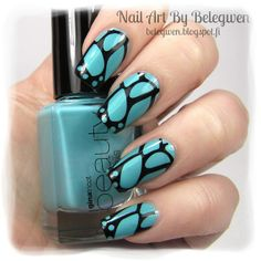 Nail Art by Belegwen: Gina Tricot Summer Sea