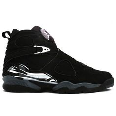 305381-001 Nike Air Jordan 8 VIII Retro-Black /Chrome http:/