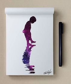 •°•✧ Pinterest - @ Tanyacrumlishx•°•✧ Muhammed Salah, Galaxy Art, Tattoo Drawings, Art Drawings, Diy Painting, Doodle Art, Watercolor Art, Amazing Art, Photo Art