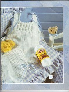RECEITA TRICÔ FÁCIL: Lanas Stop N°61-Revista Tricô Bebês Apron, Fashion, Free Knitting, Knitting For Kids, Layette, Knitting And Crocheting, Knitted Baby, Journals, Computer File