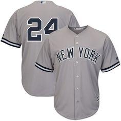 489e20ac59f Men s New York Yankees Gary Sanchez Majestic Gray Cool Base Player Replica  Jersey
