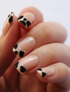 Lepord Nail tips art