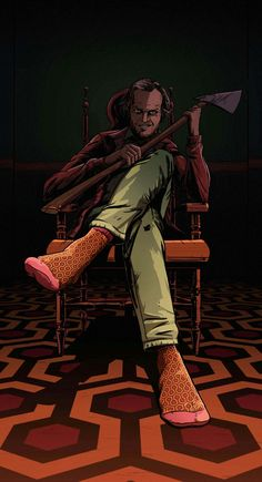 The secrect to the horror of the shining is in the pattern of the floor. Orange … The secrect to the horror of the shining is in the pattern of the floor. Orange = dread…once it draws you in then it drains you! Scary Movies, Great Movies, Horror Movies, Comedy Movies, Doctor Sleep, Posters Vintage, Vintage Movies, Horror Artwork, Kino Film