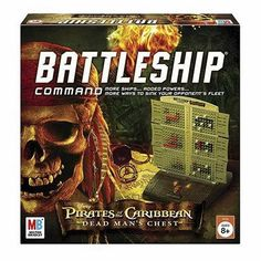 Battleship Command Pirates of the Caribbean - got this! Love it!