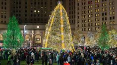 Ohio's Christmas Tree in Cleveland | The Best Christmas Tree in Every State