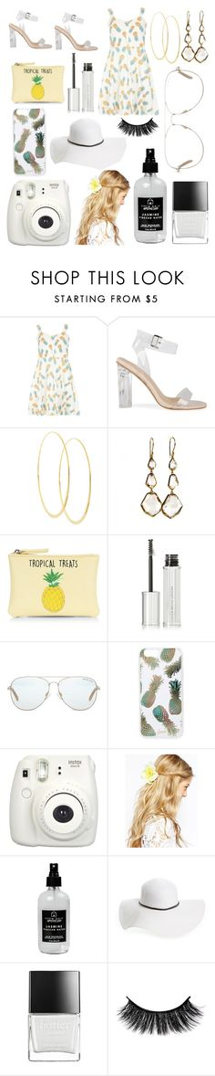"""""""Pineapples🍍"""" by katieivory ❤ liked on Polyvore featuring Dorothy Perkins, Lana, Ippolita, New Look, Givenchy, Michael Kors, Sonix, Fujifilm, ASOS and Little Barn Apothecary"""