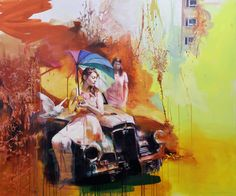 """Juxtapoz Magazine - Preview: Chloe Early """"Rainbow Ruins"""" @ Corey Helford Gallery, Culver City 