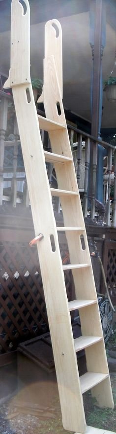 Loft Ladder; Library Ladder