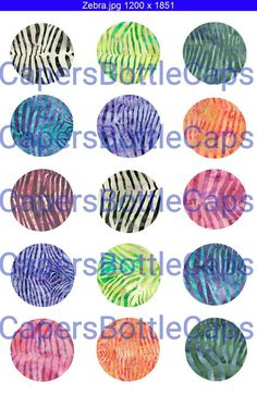 SALE on Instant Download 4 x 6 Collage Sheet by CapersBottleCaps
