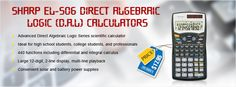 #Sharp #EL506 Direct Algebraic Logic (D.A.L) #Calculators  #Calculation solution on finger tips. Grab our #bestseller at #affordable price of $17.95.