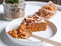 ≡ CarrotCake ≡ (Vegan, Sans gluten & Healthy)