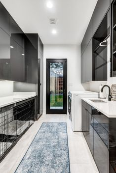 119 West Shore - Contemporary - Laundry Room - Dallas - by Street Custom Homes Mudroom Laundry Room, Laundry Room Layouts, Laundry In Bathroom, Modern Laundry Rooms, Modern Room, Laundry Room Lighting, Laundy Room, Laundry Room Inspiration, Laundry Room Design