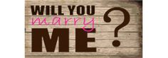Propose on a Banner! Browse our Will You Marry Me Banner Templates