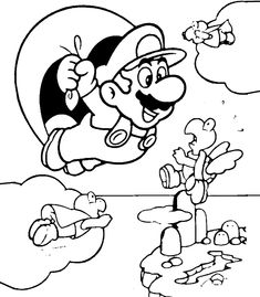 printables of super mario color free mario coloring pages and make great drawings you can make a great coloring book with this sheets