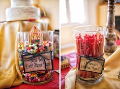 neat! http://www.reddit.com/r/harrypotter/comments/x3w3c/i_threw_a_harry_potter_bridal_shower_check_out/