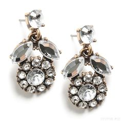 Stitch Fix Style | This Just In: Dyla Crystal Cluster Earrings
