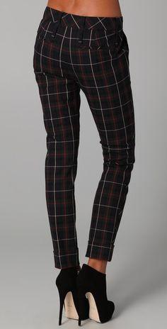 Holiday pants.