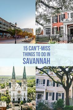You definitely don't want to miss these Savannah activities.