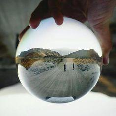 Capture a whole world within the palm of your hand ️️ By artist @sampoole #crystalball #crystalballphotography #lensball #magiccrystalball #photomapy #glassball #reflection #photography #canon #nikon #dslr #photographs #10k #love #art #tbt #instagram #glasssphere #glaskugel #Regram via @photomapy