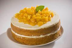 Rica receta de pastel de durazno casero, además de ser fácil, deleitará el paladar de todo el mundo.