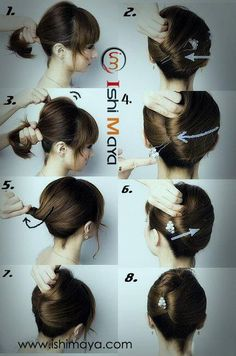 Go Classically Chic With This Easy French Twist Hair Tutorials