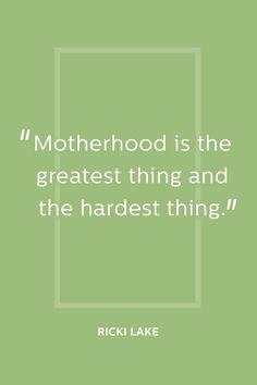 The Message: Being A Mom Is Tough But Rewarding - ELLEDecor.com