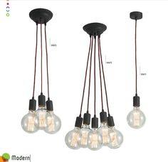 Pendul vintage edison style,diametru 13cm, Modern 350/1 LP - Corpuri de iluminat, lustre, aplice