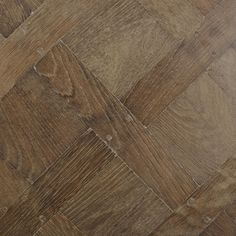 Versailles parquet panels in solid aged oak by Maison & Maison.