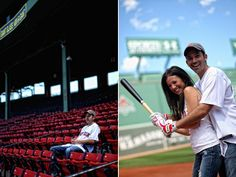 Fenway Park Boston Red Sox Engagement Session - Alana & Adam | OMG I'm Getting Married UK Wedding Blog | UK Wedding Design and Inspiration for the fabulous and fashion forward bride to be.