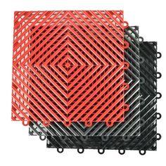 Interlocking, Perforated Garage Flooring Tiles: Wet Area Floor Vinyl Garage Flooring, Garage Flooring Options, Garage Floor Mats, Garage Floor Paint, Rubber Flooring, Garage Lift, Garage Gym, Dream Garage, Epoxy Garage Floor Coating