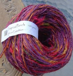 Himalaya reciclado Suave Sari riibbon Seda Hilo Tejido Crochet Tejido 100grm