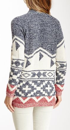 Tribal sweater - have this, so comfy!