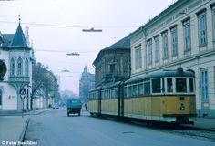 A 3-as villamos Somogyi utcai végállomása