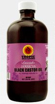 Lavender Jamaican Black Castor Oil  $6.99 hair and scalp conditioner; an uplifting skin moisturizer and healer; a massage oil to bring soothing relief to aches, pains, fibroids and lumps in the breasts;first aid for cuts, wounds and burns,seals moisture in the hair with a protective coat. It's also the only oil in nature with ricinoleic acid, destroys viruses, bacteria, yeast and molds that cause many skin problems, also helps to remove uric acid from body  the source of many inflammations.