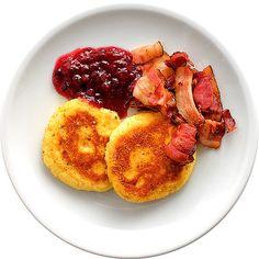 Potatisbullar med bacon och lingon | Köket.se