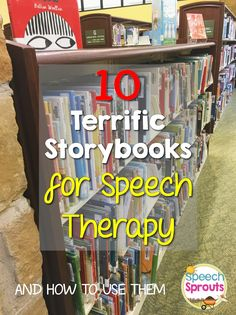 10 Terrific Storybooks for Speech Therapy and How To Use Them. 10 Terrific Storybooks for Speech Therapy and How To Use Them. Speech Language Therapy, Speech Language Pathology, Speech And Language, Receptive Language, Speech Therapy Activities, Language Activities, Articulation Activities, Book Activities, Shape Activities