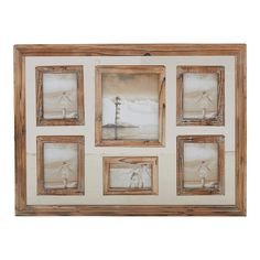 Wood Picture Frames, Picture On Wood, Picture Wall, Photo Wall, Collage Frames, Family Wall, 6 Photos, Pictures, Rustic Feel