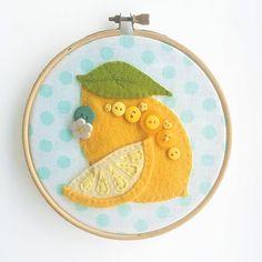 Image result for lemon applique