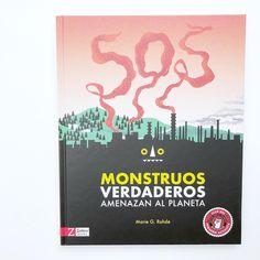 """""""SOS Monstruos verdaderos amenazan el planeta"""" es un libro didáctico y original editado por @zahoribooks para que los peques puedan familiarizarse con los principales problemas medioambientales. . Cada uno de los factores que contaminan: - Se presenta como un monstruo legendario - Nos explica qué lo causa - Nos dice como combatirlo - Y conoceremos otros seres de leyenda en el que se basa este monstruo. . Es importante que tomemos conciencia de que vivimos una emergencia climática y que… No Me Importa, Cover, Books, Factors, Planets, Legends, The Originals, Libros, Book"""