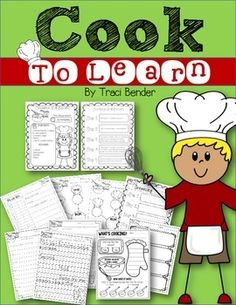 I do a lot of cooking in my classroom! When my students and I aren't doing Science, we're cooking! Cooking is not only an essential life skill, it is a great opportunity to teach students essential literacy and mathematical skills. Through cooking and working with recipes, students are exposed to reading, sequencing, following directions,  measurement; and other mathematical operations, and they have fun while doing it!