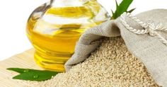 Sesame seeds oil is usually used in cooking for enhancing the taste of the food. But how many of us know that there are other amazing health benefits of sesame oil as well? Here are the top ten health benefits of sesame seeds oil that can amaze you Healthy Oils, Healthy Teeth, Natural Treatments, Natural Cures, Natural Hair, Health Remedies, Home Remedies, Vegetable Oil Substitute, Benefits Of Sesame Seeds