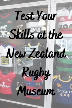 Test Your Skills at the New Zealand Rugby Museum View New Zealand's rugby museum and explore its heritage and history. Come and visit the first public museum devoted to rugby. Additionally, this is a 'must-see' museum for any sports enthusiast. #ontheroadkiwis #travel #newzealand #nztoday #nzmustdo #photography #newzealandlife #northisland #rugbymuseum #rugby #palmerstonnorth
